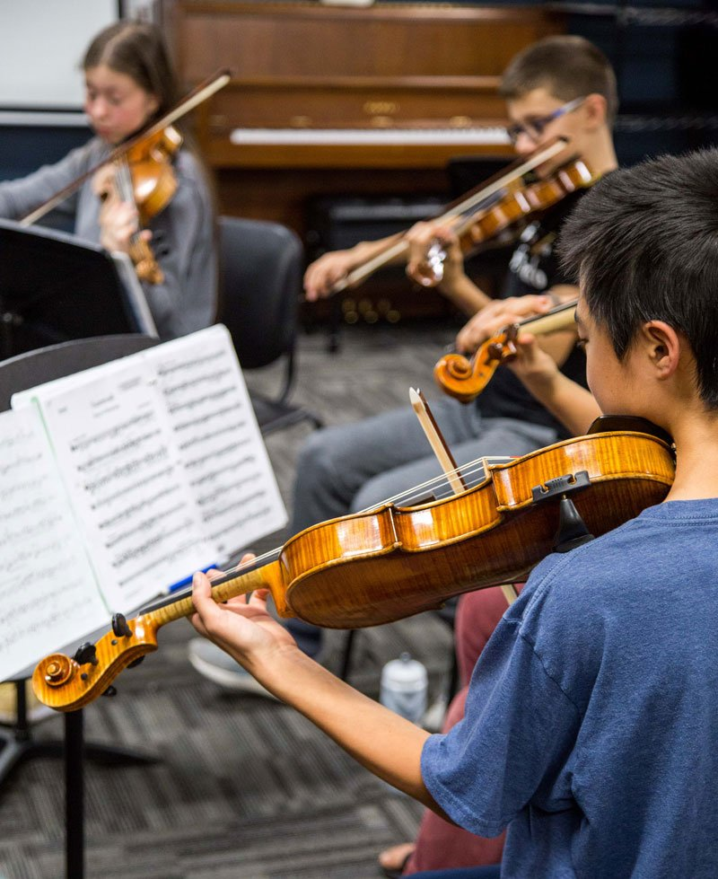 Summer Chamber Music Academy students