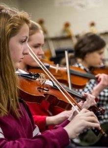 Cma Christmas Special 2020 Orchestra Violinist Summer Chamber Music Academy   Off the Hook Arts
