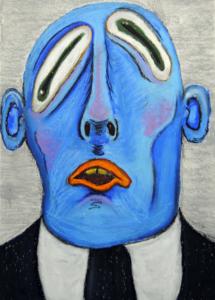 """ Mr. Blue Done"" by Robbie Mann"