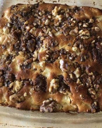 Myles Apple Walnut Coffee Cake